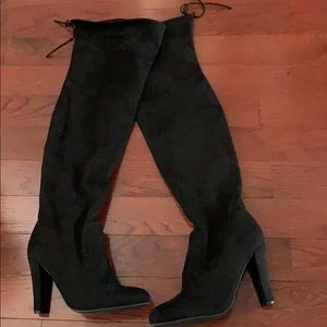 Over the Knee Steve Madden Suede Boot